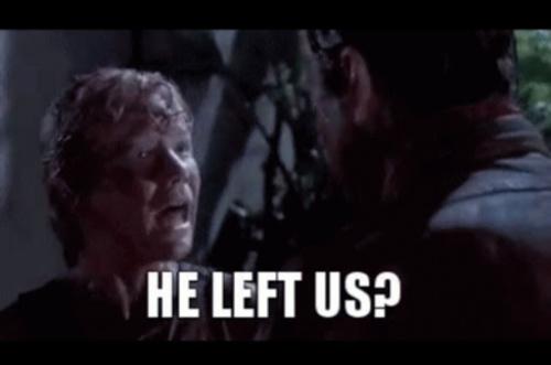"""Thumbnail from Jurassic park girl says """"He left us?"""""""